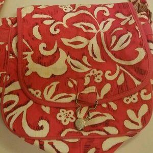 GAP Bags - GAP Pretty Pink & White Floral PURSE